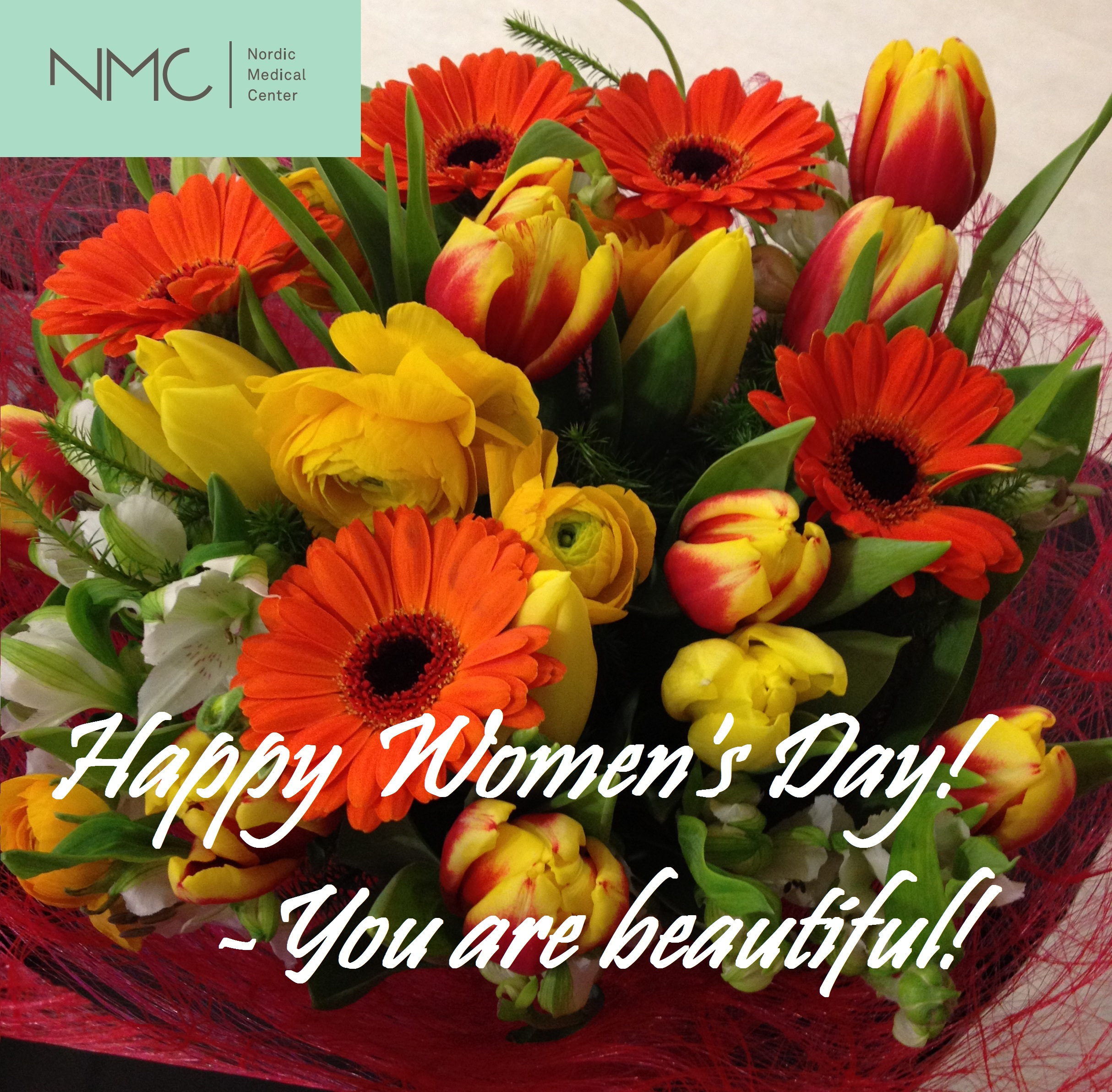 Nordic Medical Center Happy Women's Day!